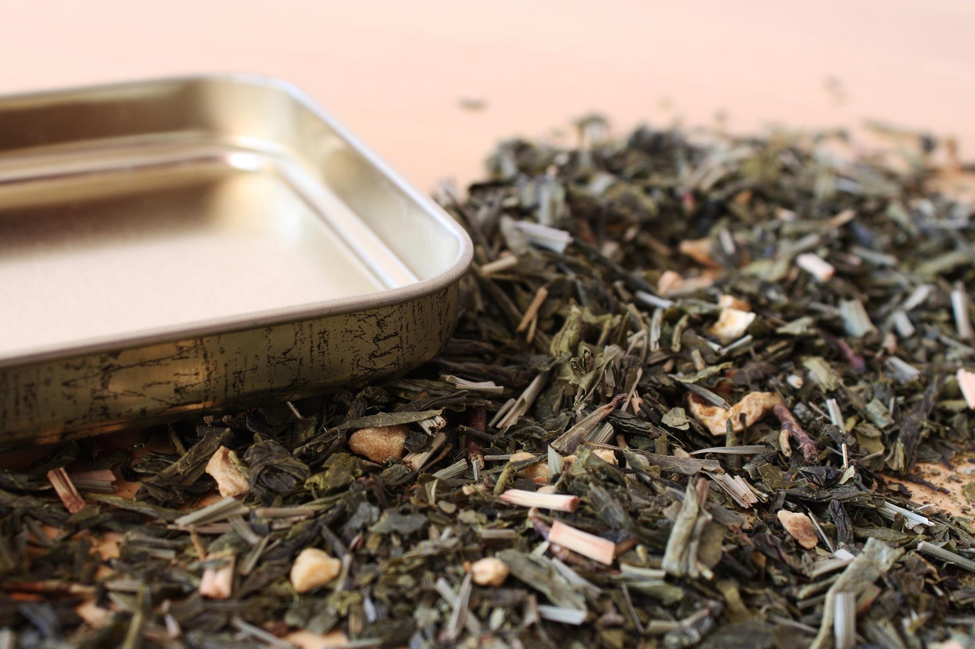 Sušené bylinky ča