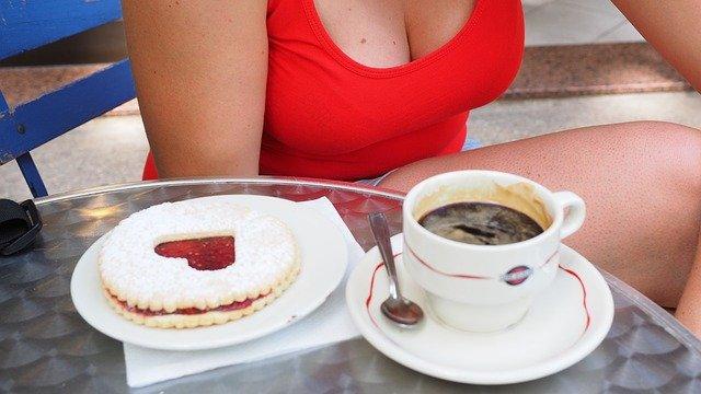 linecké kolečko u kávy
