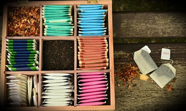 krabička na čaje
