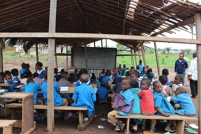 škola v Africe